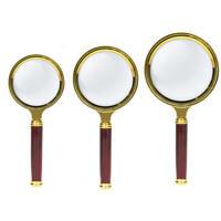 10X Magnifier palmare Lente di ingrandimento per occhiali da lettura