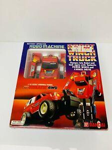 Vintage Retro Robo Machines Robot Winch Toyota Truck figure Go-Bot Bandai toys