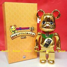 Medicom Toys Bearbrick 2015 Tokyo Sky Tree 400% Gold Lucky Cat Neko Be@rbrick 1p
