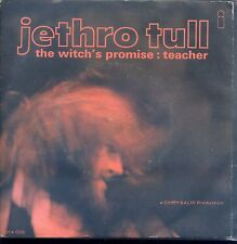 7inch JETHRO TULL the witch's promise : teacher EX +PS ISLAND