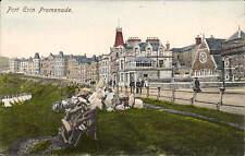 Port Erin, Isle of Man. Promenade # 1010 in Baur's Series.
