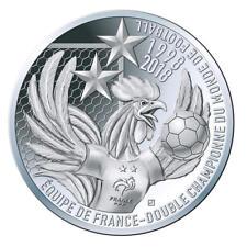 NOUVEAU ! 10 EUROS ARGENT coupe du monde de football FIFA 2018 victoire PREVENTE