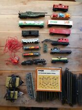 TYCO Train Set Parts and Cars