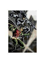 Batman and Robin Cross Stitch Kit.