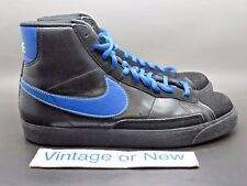 Nike Blazer Mid Black Royal Blue Volt GS 2009 sz 7Y