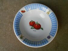 "New ListingTabletops Fresh Vegetable Tomato 8.5"" Serving Bowl"