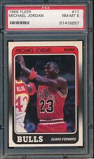 1988 Fleer #17 Michael Jordan PSA 8