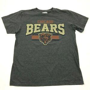 NFL Brandon Marshall Chicago Bears Shirt Size Medium M Gray Graphic Tee Football