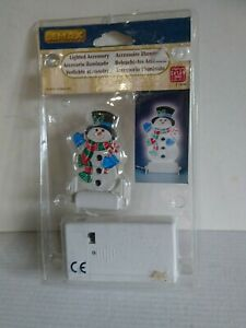 LEMAX SNOWMAN LIGHTED ACCESSORY