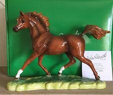 JOHN BESWICK HORSE PONY ARAB STALLION CHESTNUT  GLOSS MODEL JBH37BAY NEW BOXED