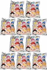 Disney Tsum Series 3, 3D Foam 10 Blind Bags Key Chains, 1 Figure Per Pack