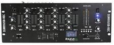 "DJM95USB-REC IBIZA 4 Kanal 19"" DJ Mischpult MP3 Player Mixer Audio USB Record"