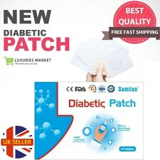 SUMIFUN Improved Diabetic Patch Herbal Cure Lower Sugar Level Balance Plaster UK