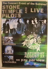 STONE TEMPLE PILOTS  SHOWTIME EVENT PROMO POSTER 2001