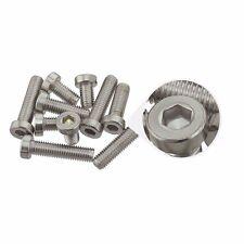 M5 10mm Low Head Cap Metric Hex Socket Screw Bolt Stainless Steel  - Pack of 10