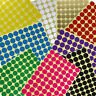 700*19mm Round Paper Dot Stickers, Coloured Circular Circles Sticky Code Labels