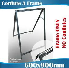 Corflute Inserted A Frame A Boards Sandwich A Frames ONLY, No Corflute Boards