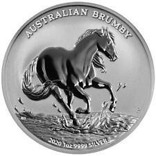 Australien 1 Dollar 2020 Australian Brumby Premium-Anlagemünze - 1 Oz Silber ST