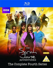 SARAH JANE ADVENTURES COMPLETE SERIES 4 BLU RAY Fourth 4th Season Four UK New