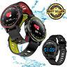 ECG Smart Watch Blood Pressure Oxygen Monitor Sport Bracelet Waterproof IP68