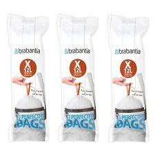 brabantia 60 Stück Müllbeutel 10-12 L Kode X für Newicon + BO Touch Abfallbeutel