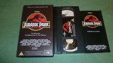 JURASSIC PARK VHS AND BOOKLET
