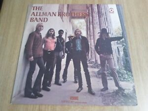 THE ALLMAN BROTHERS BAND - SELF-TITLED - UK A2/B2  - VERY GOOD++