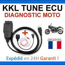 Interface Diagnostic KKL Spéciale MOTOS DUCATI + Adaptateur OBD + TUNE ECU