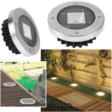 Outdoor Solar Power LED Ground Light Waterproof Path Garden Landscape Spike Lamp