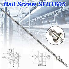 Ball Screw SFU1605 L1000mm End Machined Ballscrew W/ Single Ballnut Tool for CNC