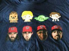 Nats Star Wars Emoji Tshirt XL Washington Nationals SGA