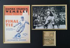 More details for portsmouth fc fa cup final 1939 winners programme & photo mount pompey