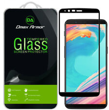 Dmax Armor OnePlus 5T Tempered Glass Full Cover Screen Protector BLACK