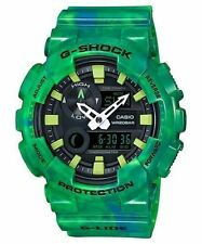 Casio Men's G-Shock LIMITED EDITION G-Lide Green Ani-Digital Watch GAX100MB-3A