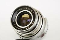 Voigtlander Dynaron 100mm 1:4.5 lens for Prominent camera