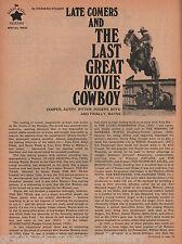 Great Movie Cowboys of All Time+Family-Autry, Dwan, Echols, Fonda, LaRue, Willat