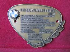 Bmw/para éxitos deportiva 1970/motorradplakette/autoplakette/Badge