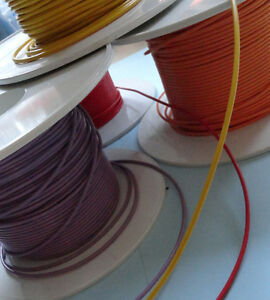 12v Cable 5m Car Automotive Electrical Wiring 2.0mm² 33 COLOUR COMBINATIONS