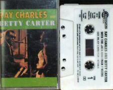 RAY CHARLES BETTY CARTER JACK HALLORAN SINGERS CASSETTE