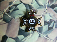 Light Dragoons Enamel Lapel Badge