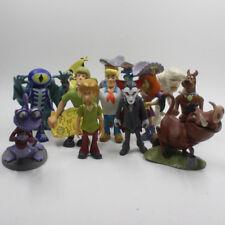 5PCS Hanna Barbera Scooby Doo Figure Loose Toys Ship At Random