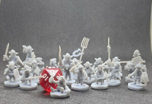 Lot of 19 Goblin Miniatures by GoonMaster for Tabletop RPG