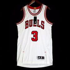 100% Authentic Dwyane Wade Bulls Pro Cut home Jersey Size M 40 - mesh jordan