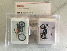 Rembi, memory, motors  mopeds, complete. Vintage toy