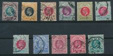 Natal *(11) Edward Vii (1902-04)*; Used; Incl #84-86, #89, #90, #104-106 Plus