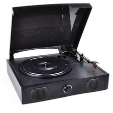 VIBE Sound VS-2002-SPK USB Turntable/Vinyl Archiver Record Player w/Speakers