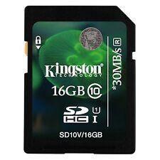 Kingston 16GB SDHC Speicherkarte