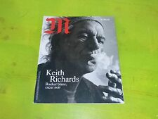Rolling Stones - KEITH RICHARDS - M - LE MONDE - RENCH MAG!!!!!