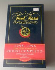 TRIVIAL PURSUIT 1995 TIRATURA LIMITATA NUOVO SIGILLATO factory sealed