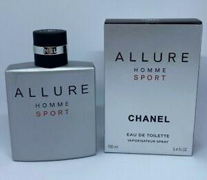 Chanel Allure Homme Sport Eau de Toilette 3.4 oz / 100 ml *GENUINE & SEALED*